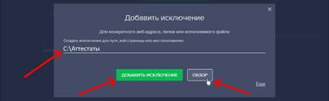 Настройка Avast - 1